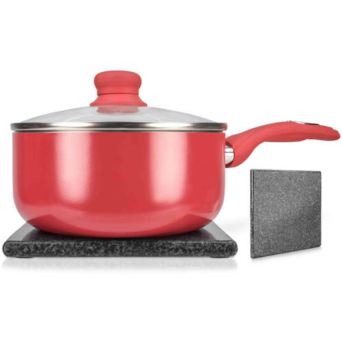 Home Basics Black Granite Trivet