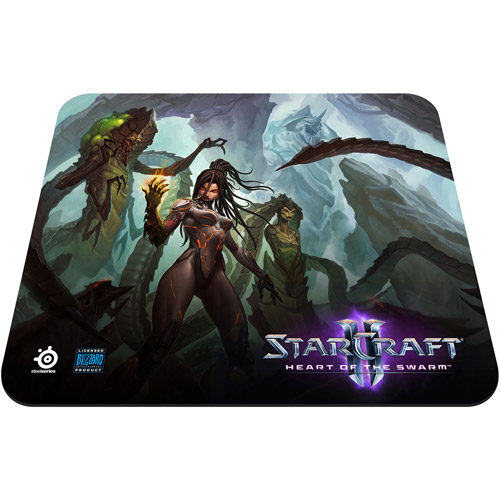 SteelSeries QcK StarCraft II Heart of the Swarm Kerrigan Edition Mousepad