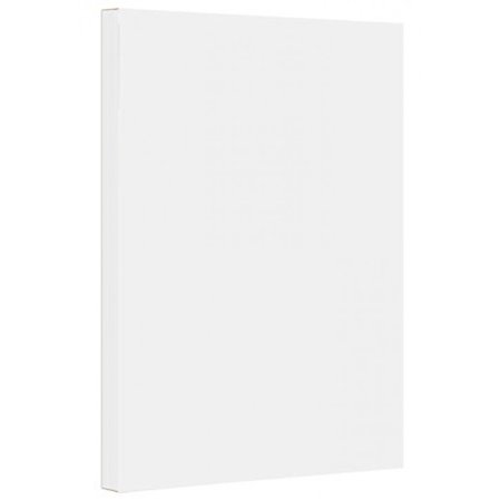 Summit White Stock (9 x 12 inches Colored Cardstock Paper 67lb, Vellum Bristol - 50 Sheets per Pack. (White) )