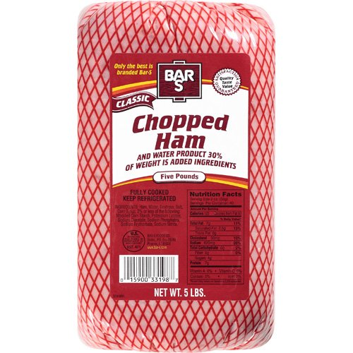 Bar-S: Classic Chopped Ham, 5 Lb