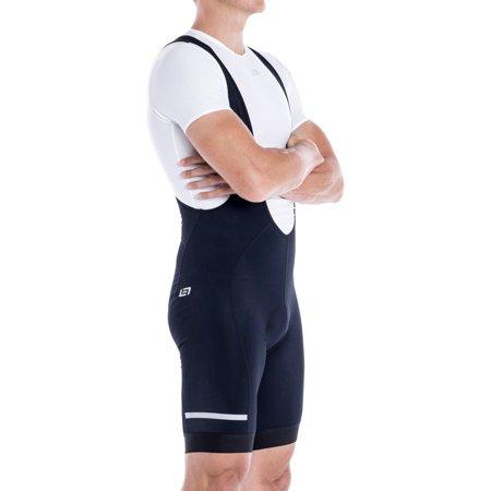 Cycling Bib (Bellwether Thermaldress Men's Bib Short Tight with Chamois: Black SM)