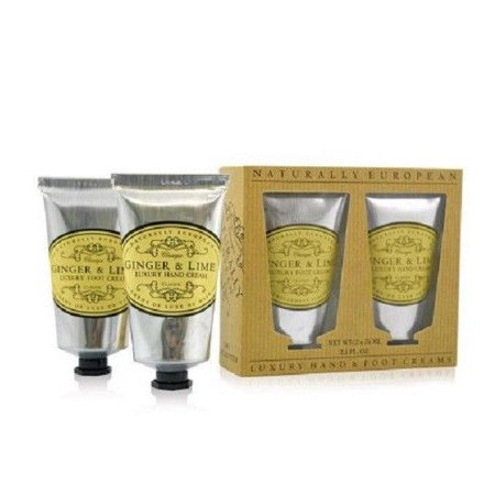 The Somerset Co. Luxury Hand & Foot Creams Ginger & LIme 5 oz.