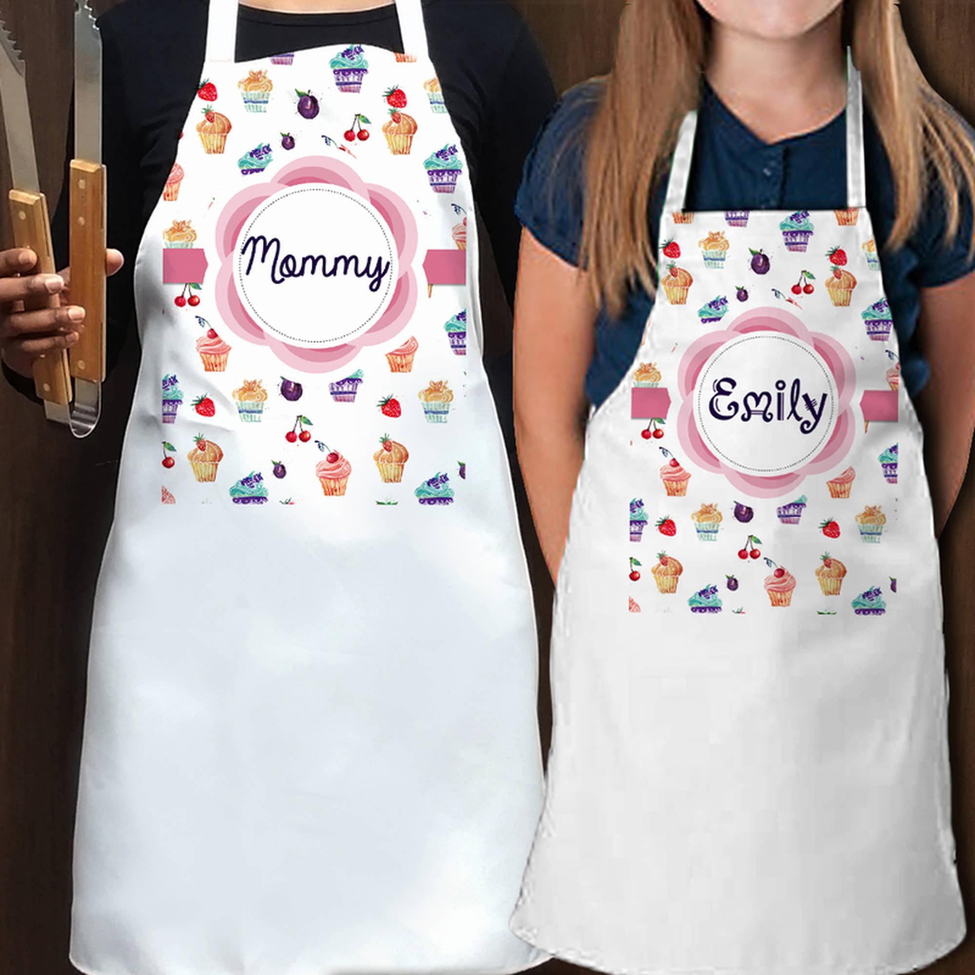 Scream For Ice Cream Personalized Kids Apron