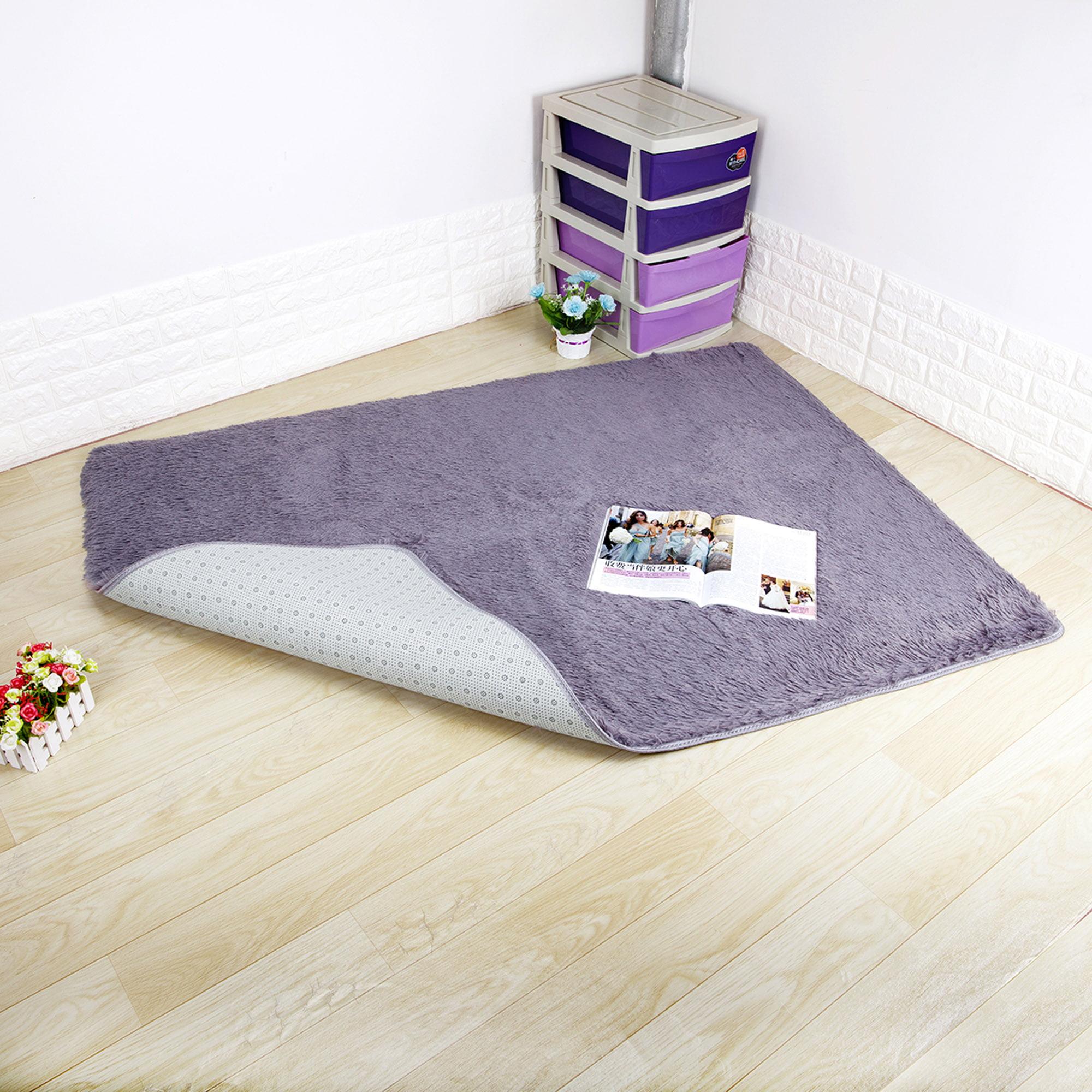 Picture of: Nk Home 2 6 X 5 3 2 6 X 3 9 Ultra Soft 4 5cm Velvet Bedroom Rugs Kids Room Carpet Modern Shaggy Area Rugs Home Decoration Black Blue Creamy Grey Gray Purple Hot Pink Pink Purple Walmart Com