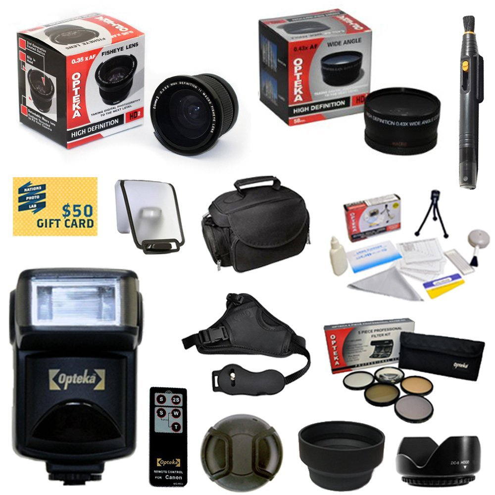 47th Street Photo Best Value Advanced Lens Kit for the Ca...