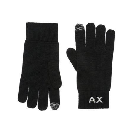 1200 Glove (Armani Mens Letter Gloves 1200 S/M)