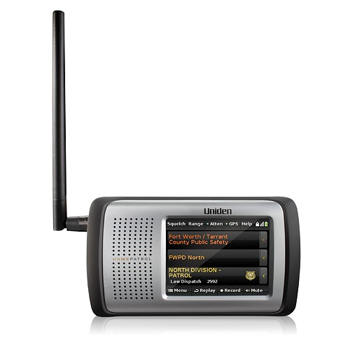 Uniden HOMEPATROL-1 Homepatrol Intuitive Touchscreen Scanner by Uniden
