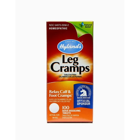 Hyland's Leg Cramps Quick-Dissolving Tablets 100 (Safe Over The Counter Diet Pills Fda Approved)