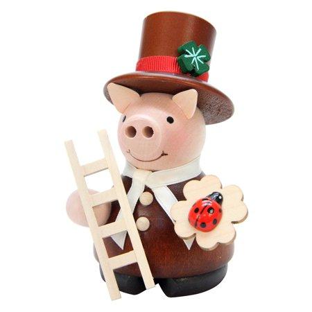 Ulbricht Lucky Pig Chimneysweep Incense Smoker