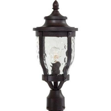 Minka Lavery Outdoor Post Lights 8766 166 Merrimack Cast Aluminum Exterior Lighting Fixture 100 Watts Bronze