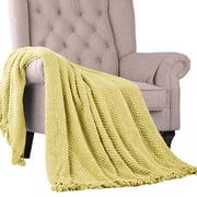 """Home Soft Things Tweed Throw Blanket, 60"""" x 80"""""""