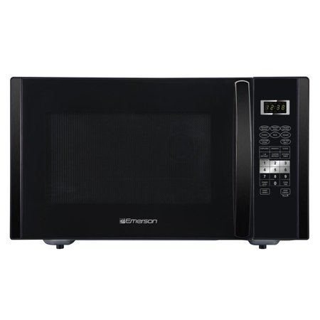 Emerson ER105002 1.6 cu. ft. 1000W, Sensor Cooking Touch Control, Counter Top Microwave Oven, Black Emerson Appliance Solutions