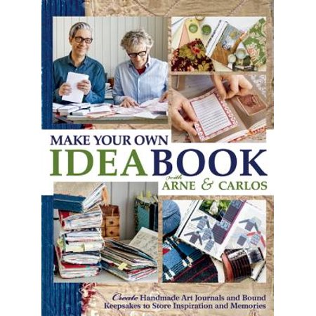 Hands Keepsake Kit (Make Your Own Ideabook with Arne & Carlos : Create Handmade Art Journals and Bound Keepsakes to Store Inspiration and Memories )