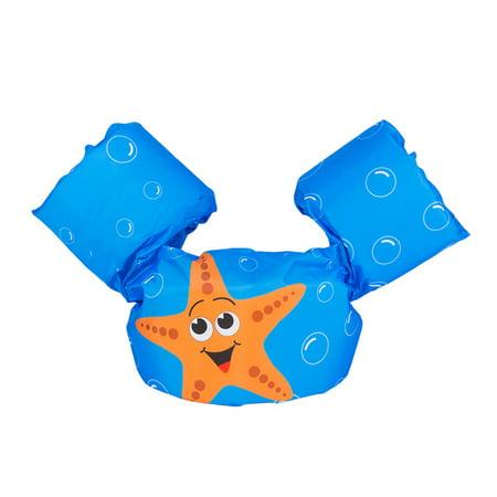 Image of Life Jacket Swimming Floats Vest Puddle Jumper Fashion Jacket for Child
