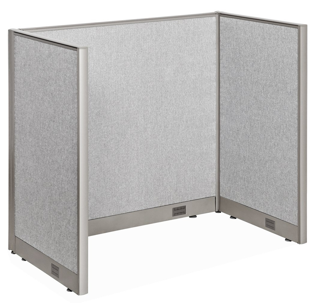 Office devider Pallet Gof Office Cubicle Privacy Stations 30d 48w 48h Office Partition Wall Room Divider Office Divider Walmartcom Walmart Gof Office Cubicle Privacy Stations 30d 48w 48h Office
