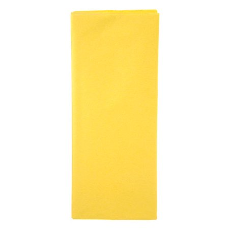 Tissue Paper - Bright Yellow - 20 x 26 inches - 8 sheets](Yellow Tissue Paper)