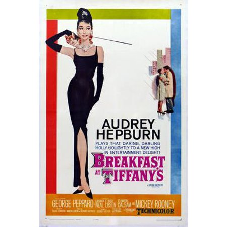 Breakfast At Tiffanys Movie Poster 11x17 Mini Poster