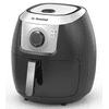 La Gourmet 7.2 Quart Multi Functional Oil Free Manual Air Fryer & Convection Oven, Black