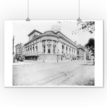Century Opera House on Central Park West & 62nd Street NYC Photo (9x12 Art Print, Wall Decor Travel Poster) - Central Bar Nyc Halloween
