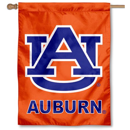 "Auburn Tigers 30"" x 40"" Two Sided House Flag"