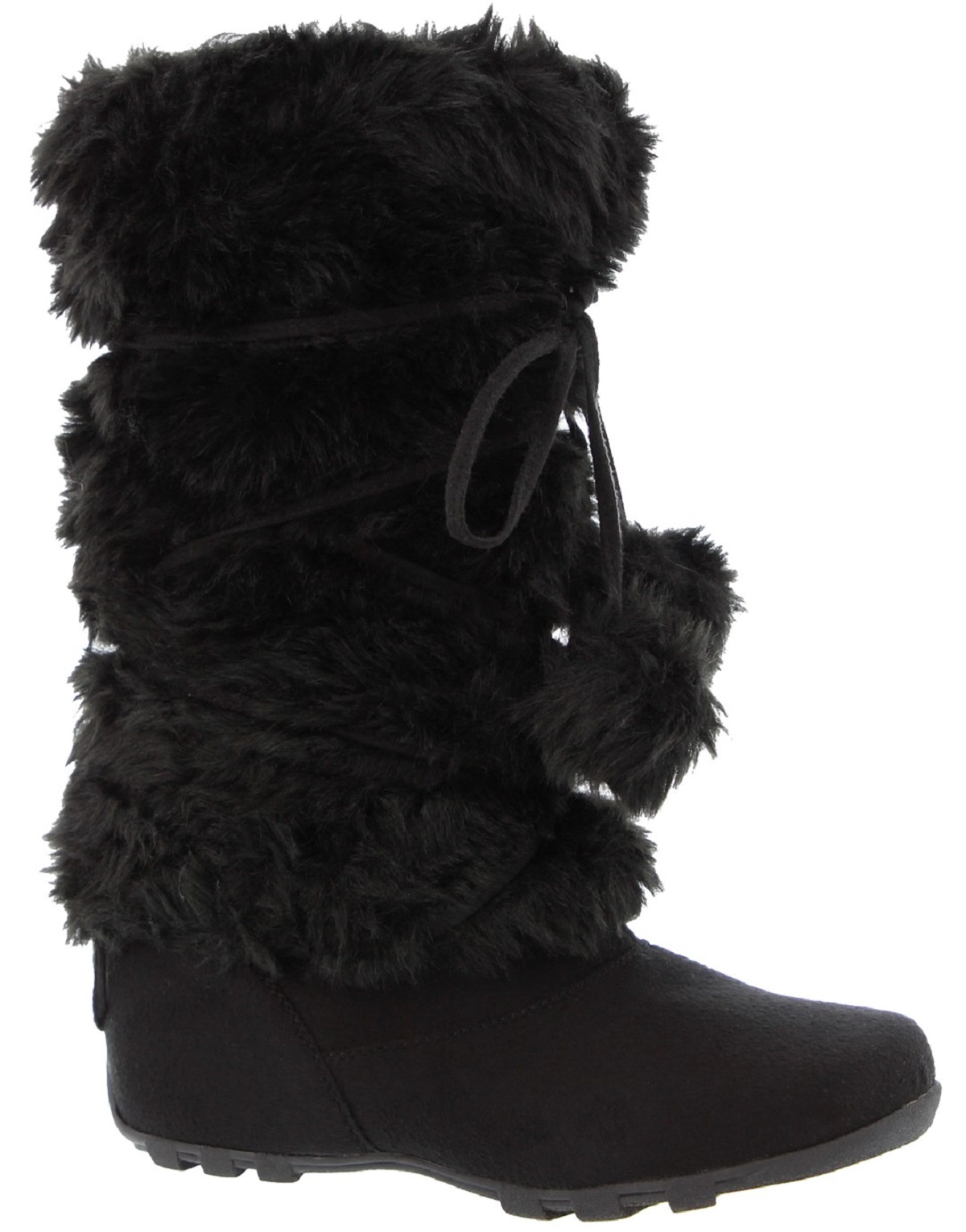 2bb1613569b8 Blossom - Talia-Hi Women Mukluk Faux Fur Boot Mid Calf Winter ...