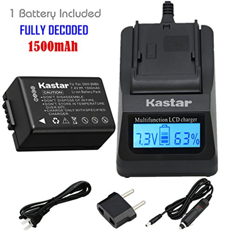 Kastar Ultra Fast Charger(3X faster) Kit and Battery (1-P...