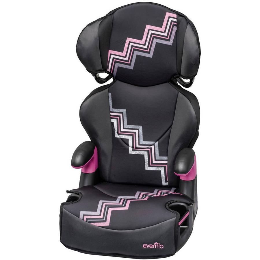 Evenflo Big Kid Sport High Back Booster Car Seat, Mia