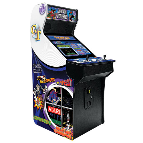 Arcade Legends 3 Upright Multi-Game Video Arcade Game Machine with 135 Pre-installed Games