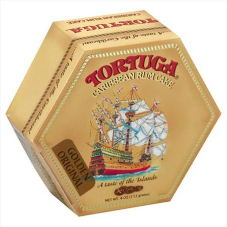 Tortuga Golden Original Caribbean Rum Cake 4 Oz