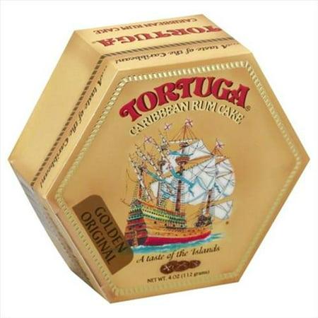 Tortuga Golden Original Caribbean Rum Cake, 4 oz