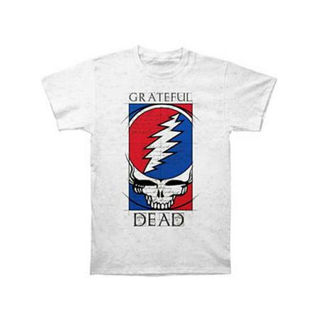 - Grateful Dead Men's  Steal Your Blueprint T-shirt Grey