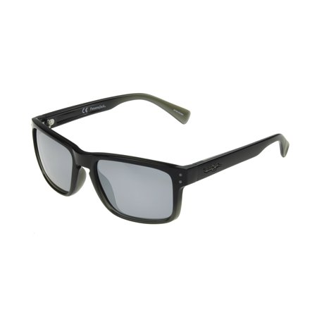 Panama Jack Men's Black Mirrored Retro Sunglasses OO09 - Black Retro Sunglasses