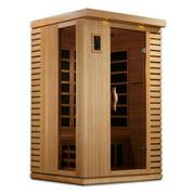 Golden Designs Inc. 2 Person Ultra Low EMF Infrared Sauna
