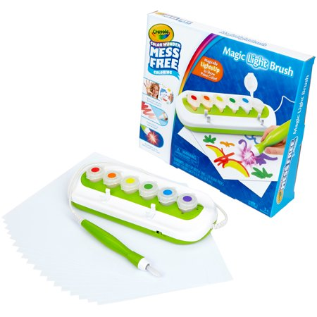 Crayola Color Wonder Magic Light Brush Set, Ages 3+ ()