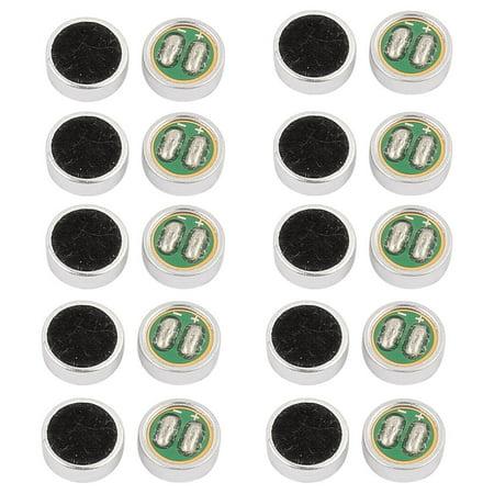 20pc 6mmx2.2mm Microphone électret capacitif 30-44DB Sensibilité - image 1 de 1