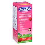 Benadryl Children's Allergy Liquid Cherry 4.0 oz.(pack of 1)