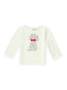 7ae00a40 Product Image Gymboree Girls Puppies Bow Graphic T-Shirt