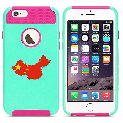 Apple iPhone 6 Plus   6s Plus Shockproof Impact Hard Case Cover China Chinese...
