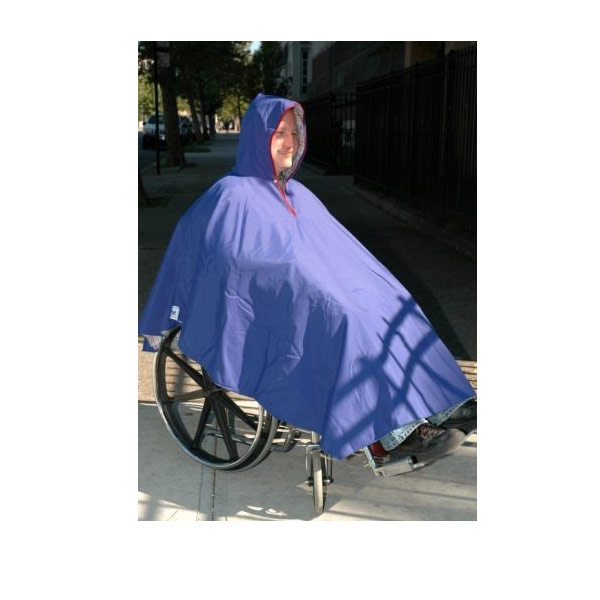 Maxiaids Wheelchair Poncho-Unisex-Adult