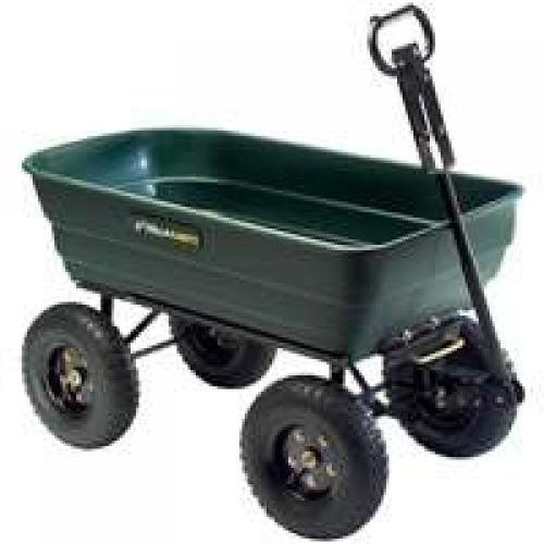 Tricam Industries GOR108D-SC Dump Cart With Convertable Handle
