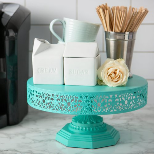 Amalfi Decor Isabelle Metal Cake Stand
