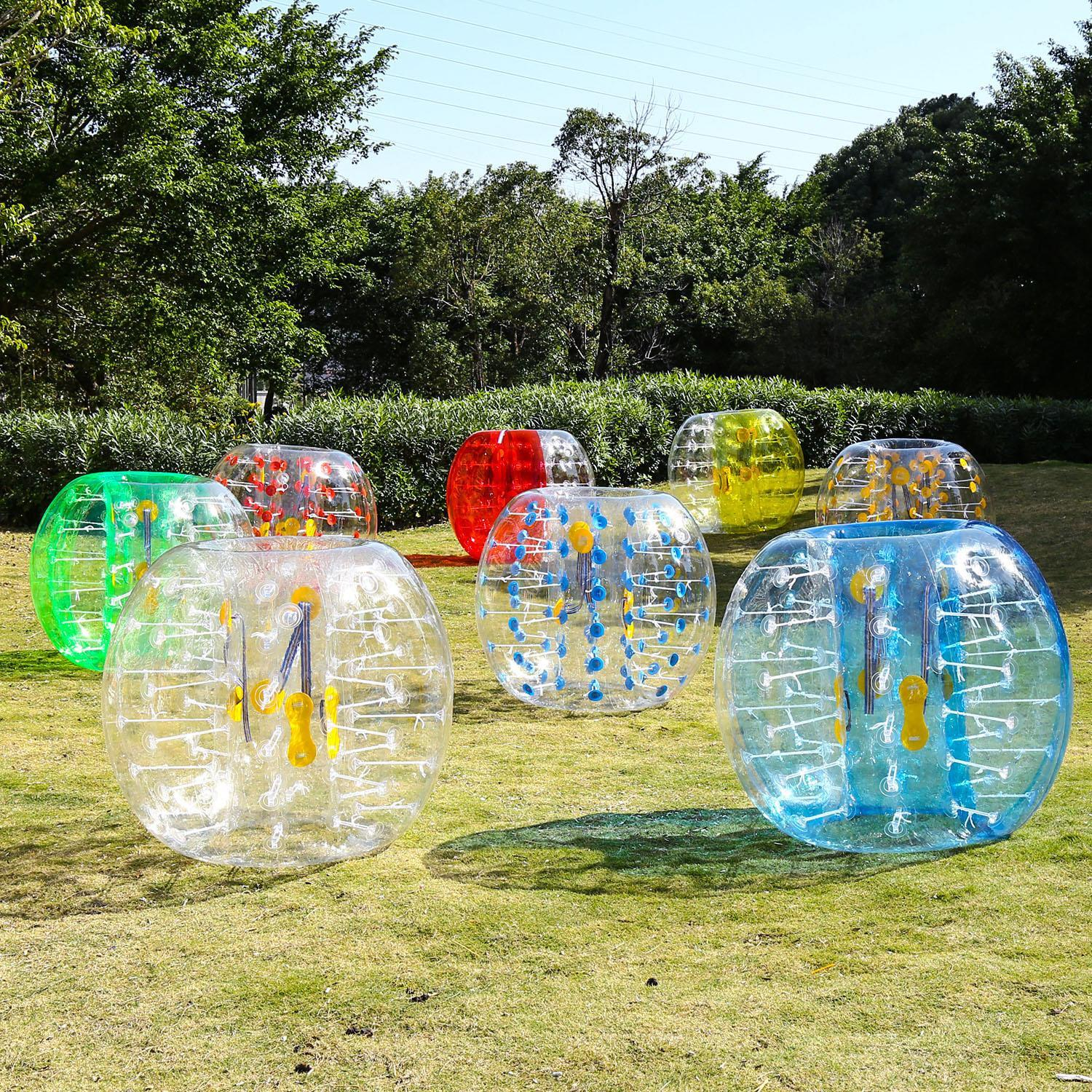 Funny Inflatable Bumper Ball Human Knocking Ball Bubble Soccer Football Adults and Kids... by