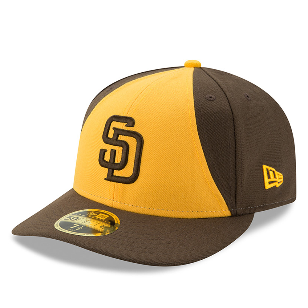 San Diego Padres New Era 2017 Authentic Collection On-Field Low Profile 59FIFTY Fitted Hat - Brown
