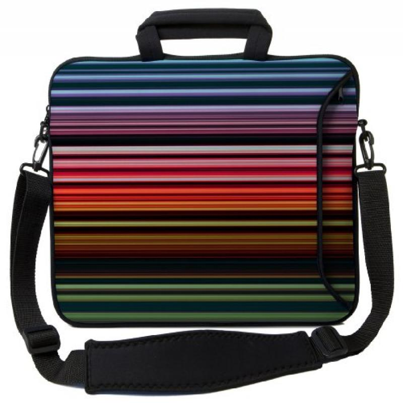 Designer Sleeves Retro Stripes Executive Case for 13-Inch...
