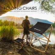 MIARHB Portable Folding Chair Outdoor Camping Fishing Picnic Beach BBQ Stools Mini Seat