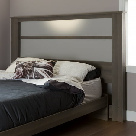 South Shore Gloria King Headboard with Lights, 78