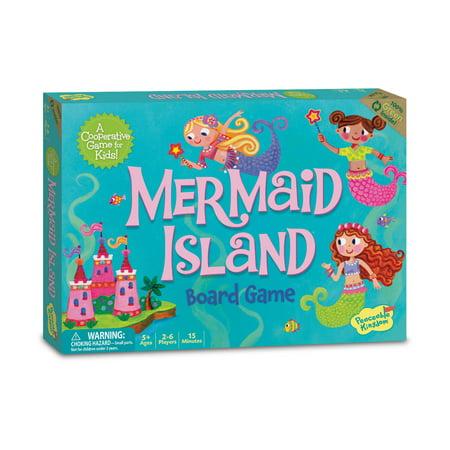 Mermaid Island Board Game (Total Drama Revenge Of The Island Games)