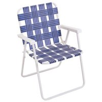 RIO BRANDS LLC BY055-0138 Blue Web Fold Chair