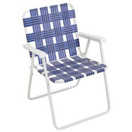 RIO BRANDS LLC BY055-0138 Blue Web Fold Chair ()