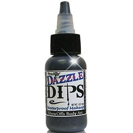 ProAiir Dips Waterproof Makeup - Black Dazzle (1 oz) for $<!---->
